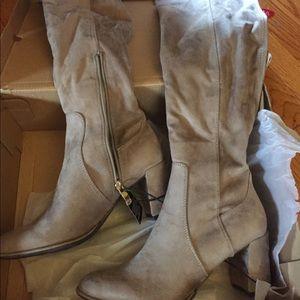 cf7770516a2 Liz Claiborne Shoes - Liz Claiborne Leyla sz 7.5 over the knee boot NWT